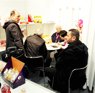 Cologne, Germany candy and snack food exhibition (ISM)